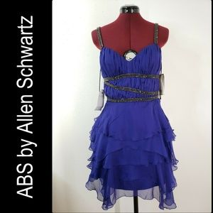 ABS by Allen Schwartz Woman Layer Tunic Dress Sz 4
